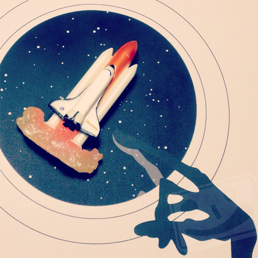 4月24日 スペースシャトルディスカバリー打ち上げの日