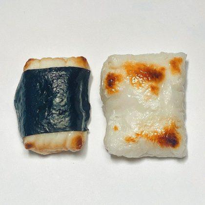 食品サンプルメーカーまいづると末武サンプルののお餅のマグネット