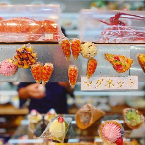 食品サンプル専門店まいづる閉店セールの店内の様子