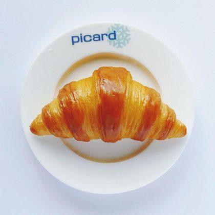 フランスの冷凍食品専門店picardのミニチュアクロワッサンのマグネット