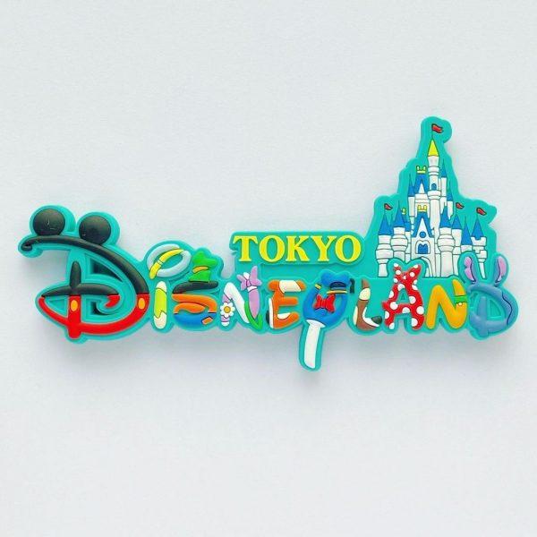 東京ディズニーランドのロゴマグネット