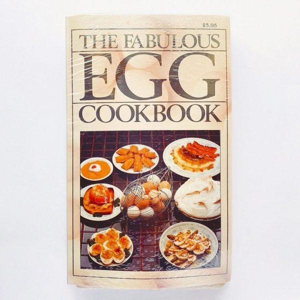 ARJON社の「MAGNETIC TOAST-STAMP」トーストスタンプマグネットのオマケ「THE FABULOUS EGG COOK BOOK」